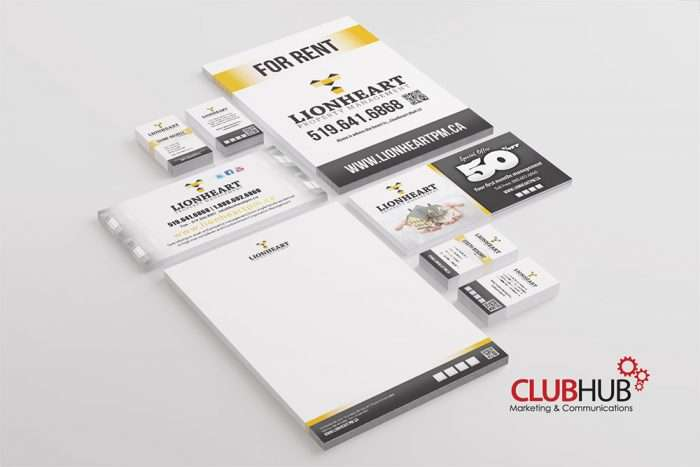 Club Hub Marketing & Communications - Branding - Lionheart Property Management