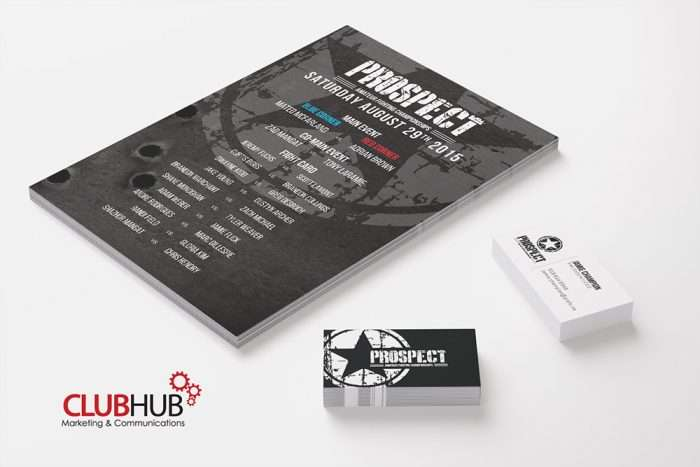 Club Hub Marketing & Communications - Branding - Prospect Fighting
