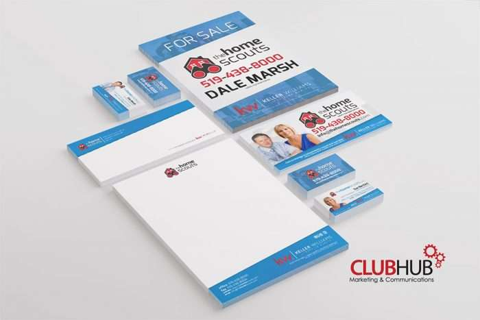 Club Hub Marketing & Communications - Branding - The Home Scouts