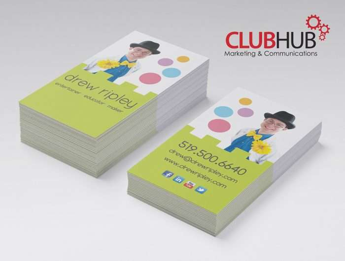 Club Hub Marketing & Communications - Business Card - Drew Ripley