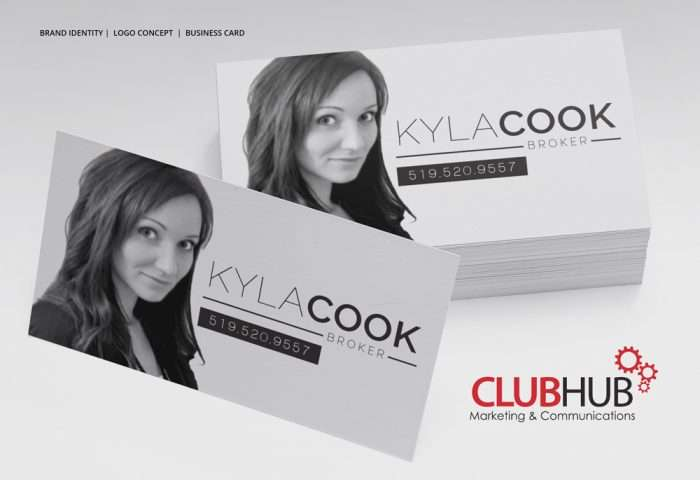 Club Hub Marketing & Communications - Business Card - Kyla Cook