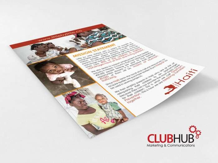 Club Hub Marketing & Communications - Flyer - Little By Little