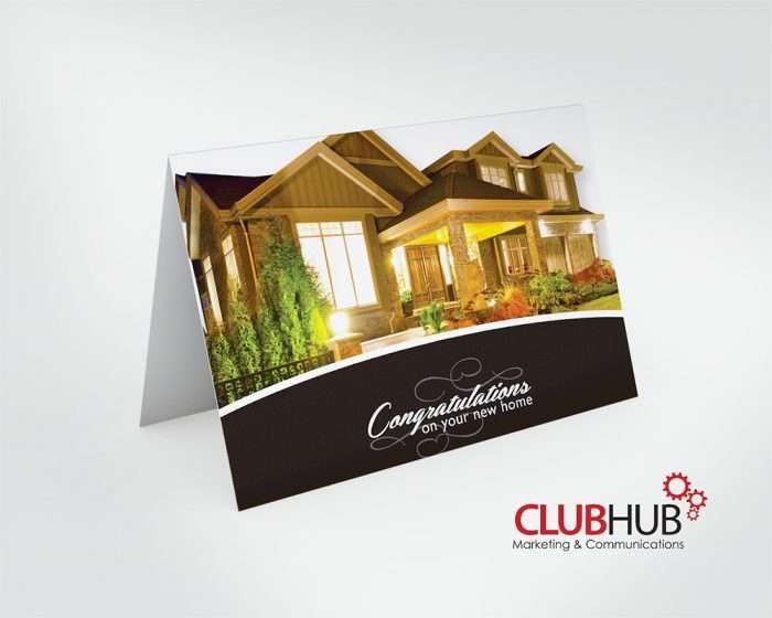 Club Hub Marketing & Communications - Greeting Card - Andrew Lampman