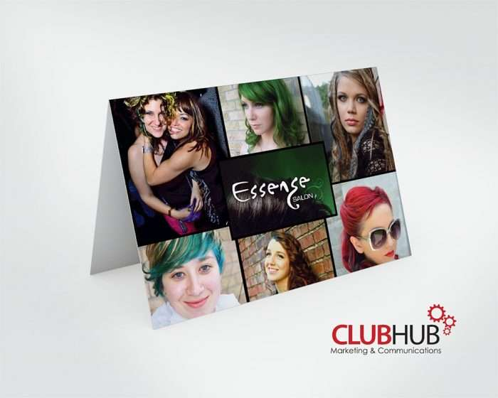 Club Hub Marketing & Communications - Greeting Card - Essense Salon