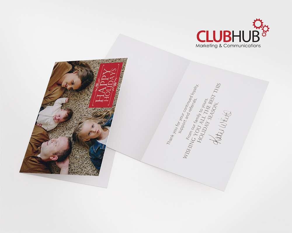 Club Hub Marketing Communications Greeting Card Katie White
