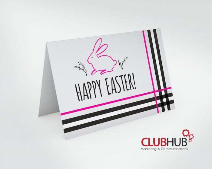Club Hub Marketing & Communications - Greeting Card - Laura Burberry