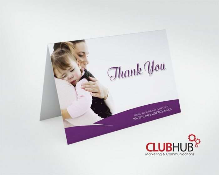 Club Hub Marketing & Communications - Greeting Card - Michael House