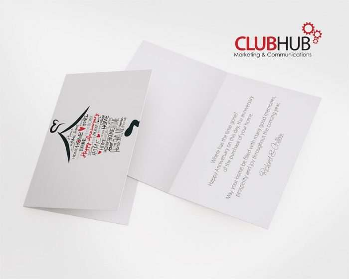 Club Hub Marketing & Communications - Greeting Card - Thyssen Group