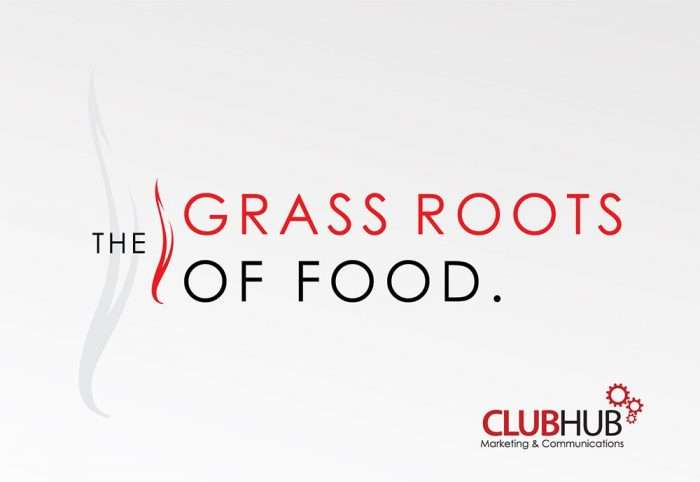 Club Hub Marketing & Communications - Logo Creation - Grass Roots Of Food