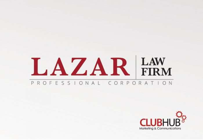 Club Hub Marketing & Communications - Logo Creation - Lazar Law Firm
