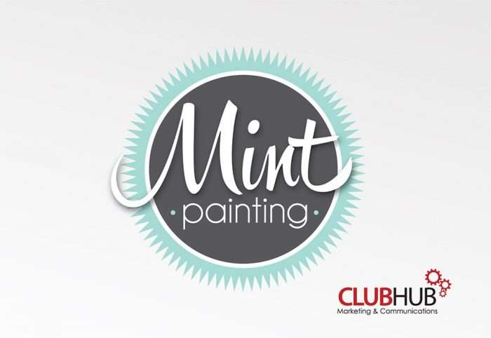Club Hub Marketing & Communications - Logo Creation - Mint Painting
