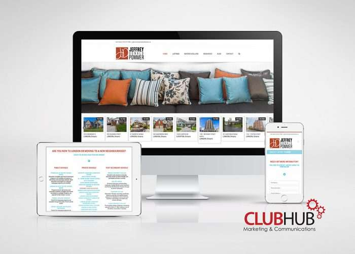 Club Hub Marketing & Communications - Web Development - Jeffrey Pommer