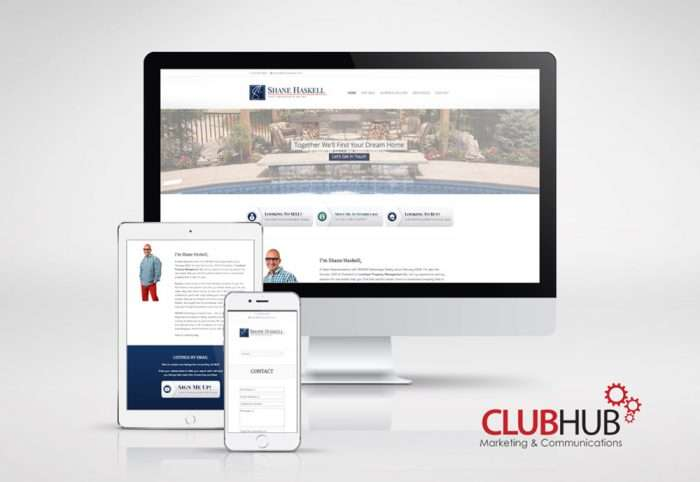 Club Hub Marketing & Communications - Web Development - Shane Haskell