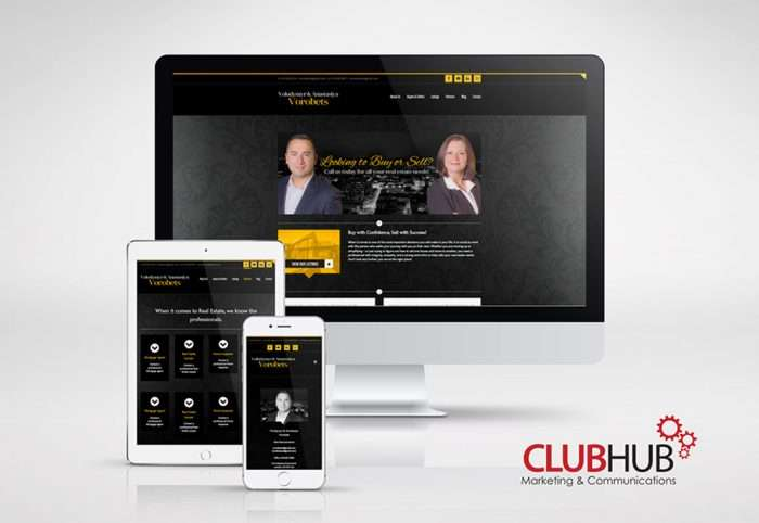 Club Hub Marketing & Communications - Web Development - Sold With Vorobets